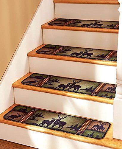 Set Lodge Deer Stair Treads product image
