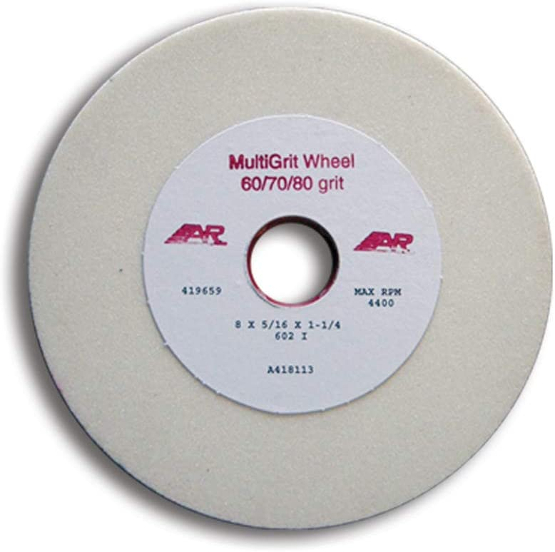 70 and 80 Grit 12 Pack The Toughest Gear For The Toughest Games A/&R Sports Multi-Grit Grinding Wheel is a Blend of 60