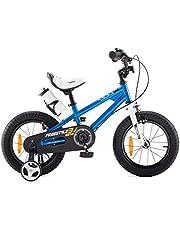 RoyalBaby Jongens Meisjes Kinderfiets Freestyle 12 14 16 18 20 Inch Fiets voor 3-12 jaar Kinderfietsen Met zijwieltjesof fietsstandaard Kinderfiets