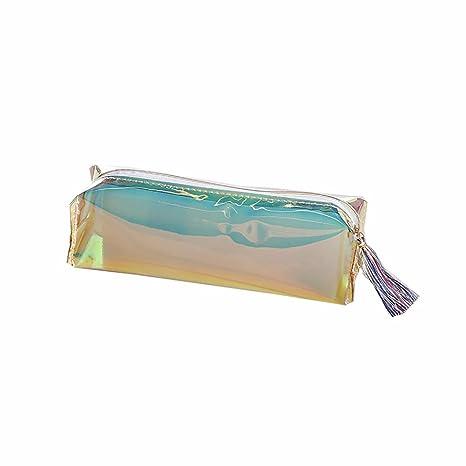 Haifly Estuches Transparentes de plástico para Lápices ...