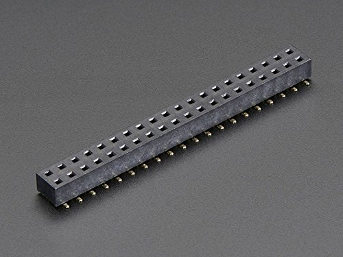 Adafruit SMT GPIO Header for Raspberry Pi HAT - 2x20 Short..