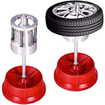 Goplus Pro Portable Hubs Wheel Balancer W/Bubble Level Heavy Duty Rim Tire Cars Truck