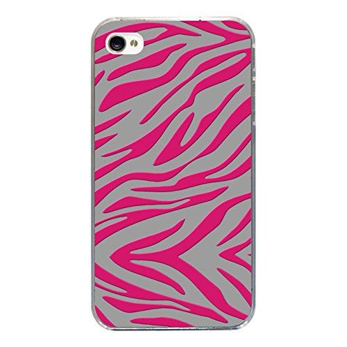 "Disagu Design Case Coque pour Apple iPhone 4s Housse etui coque pochette ""Zebra No.2"""