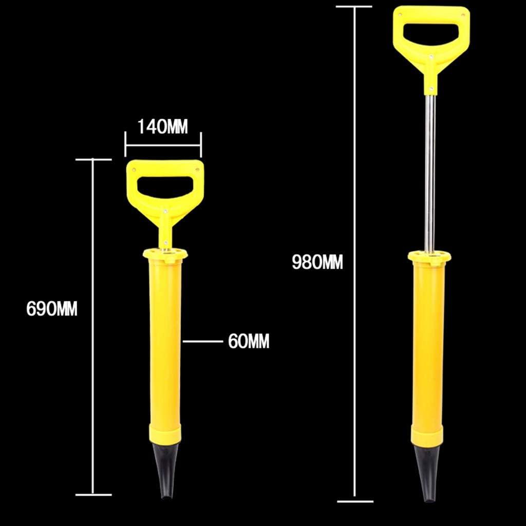 YUYUE21 Kartuschenpistole Zement Kalk Pumpe Injektion M/örtel Sprayer Applikator M/örtel F/üllwerkzeuge Mit 4 D/üsen