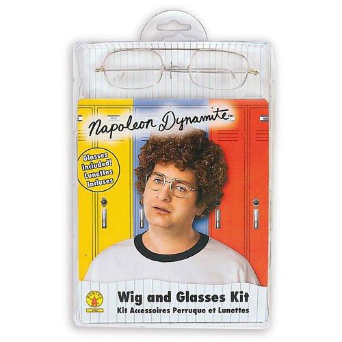 Napoleon Dynamite Wig and Glasses ()