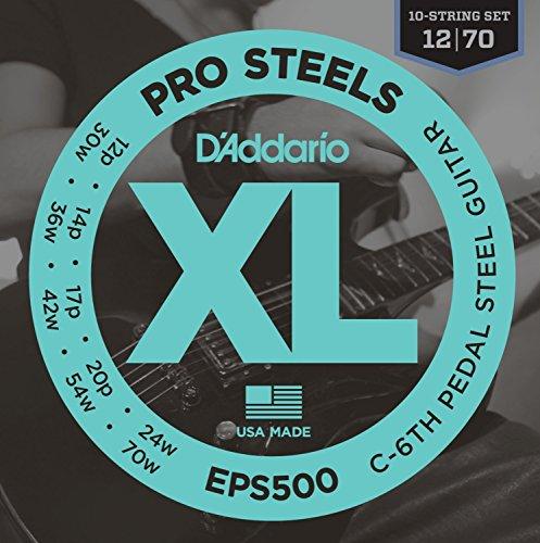 D'Addario EPS500 Pedal Steel Strings, C-6th