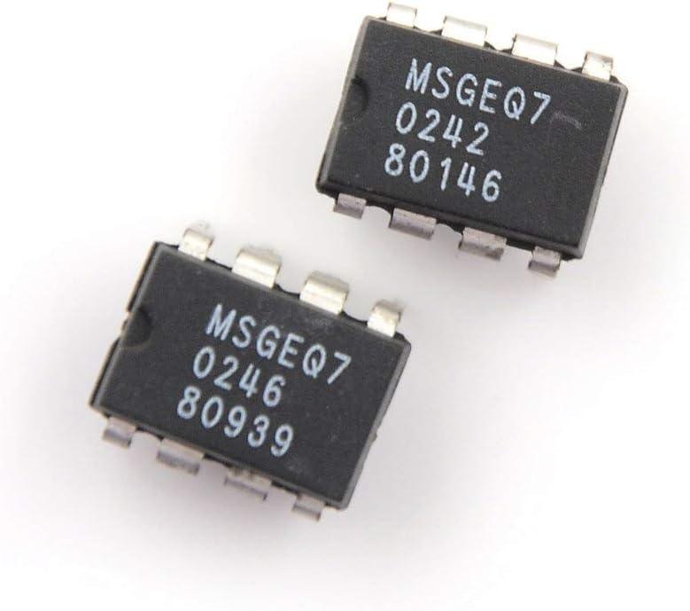 Davitu Terminals 2PCS IC DIP-8 MSGEQ7 MSGEQ7 Band Graphic Equalizer