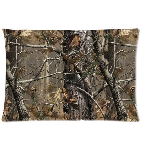 TSlook 60x80 Blankets Funny Realtree Camo Comfy Funny Bed (Brown Single Stroller)