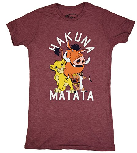 Disney Lion King Hakuna Mata Juniors Boyfriend T-shirt