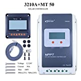 MPPT Solar Charge Controller , Solar Controller 10A/20A/30A/40A MPPT System With LCD display (MPPT30A+MT50+RTS)
