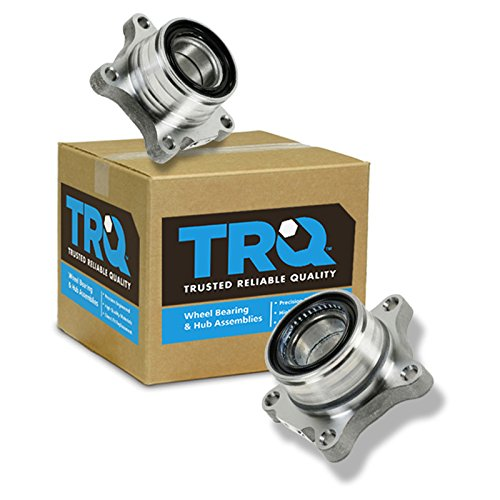 Rear Wheel Bearing Module Pair Left & Right Set For 07-12 Toyota Tundra - Bearing Retainer Rear