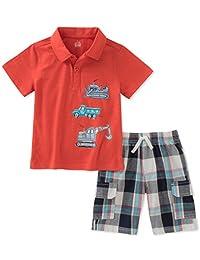 Conjunto de 2 piezas de pantalones cortos para niños Sede