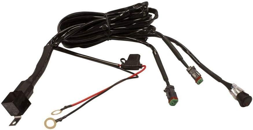 Dragonfire Racing 11-0035 LED Light Bar//Pod Wiring Harness Dual