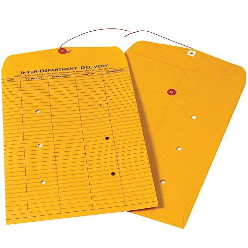 - Boxes Fast BFEN1092 Inter-Department Envelopes, 10