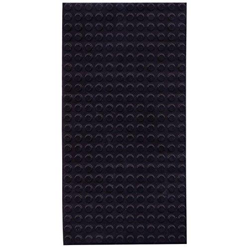 Bump Dots- Round-Flat Top-Black-Medium-300pk by MaxiAids