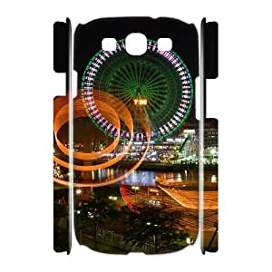 SYYCH Phone case Of City Lights Cover Case For Samsung Galaxy S3 I9300