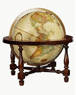 Replogle Globes Colonial Globe, Antique Ocean, 12 Inch Diameter