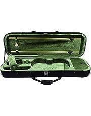 SKY 4/4 Full Size Professional Oblong Shape Lighweight Violin Hard Case with Hygrometer
