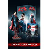 Batman v Superman: Dawn of Justice (3 Disc) (Bilingual) with Amazon Exclusive Superman Figurine [Blu-ray] Ultimate Edition
