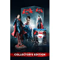 Batman v Superman: Dawn of Justice (3 Disc) (Bilingual) with Amazon Exclusive Superman Figurine [Blu-ray] Ultimate Edition (Extended Cut)