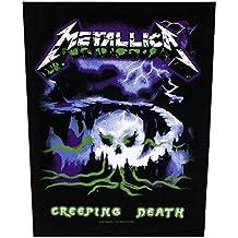 Metallica Creeping Death Back Patch Black 29x36cm