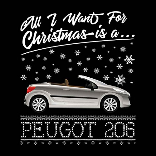 Coto7 Coto7 Coto7 Want I Black A 206 Sweatshirt Peugot Women's Is All For Christmas agraqF