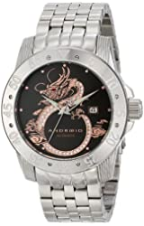 ANDROID Men's AD759AKX Flying Dragon Analog Japanese-Automatic Silver Watch