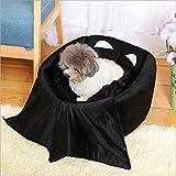 ZeHui Portable Batman Warm Pet Bed Dog Cat House Kennel Pet Supplies Decoration