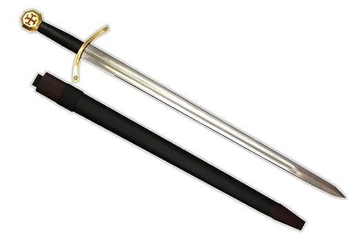 12th Century Razor Sharp Knights Templar Medieval War Sword