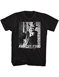 John Wayne Hollywood Icon Actor American Legend Adult T-Shirt Tee