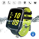 Bluetooth Smart Watch, HAMSWAN GV68 Smart watch IP68 Water Resistant Fitness Tracker with Heart Rate Monitor, Calories Steps Counter Sleep Monitor for Android and iOS
