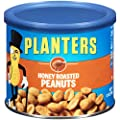Planters Peanuts, Honey Roasted , 12 Ounce Canister from Planters