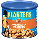 Planters Peanuts, Honey Roasted, 12 Ounce Canister