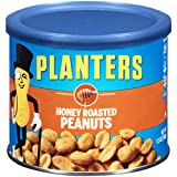 #6: Planters Peanuts, Honey Roasted , 12 Ounce Canister