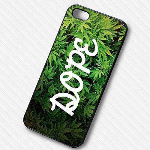 Dope Marijuana -tr Coque Iphone 6 et Coque Iphone 6s Case (Noir Boîtier en plastique dur) U4E3RF