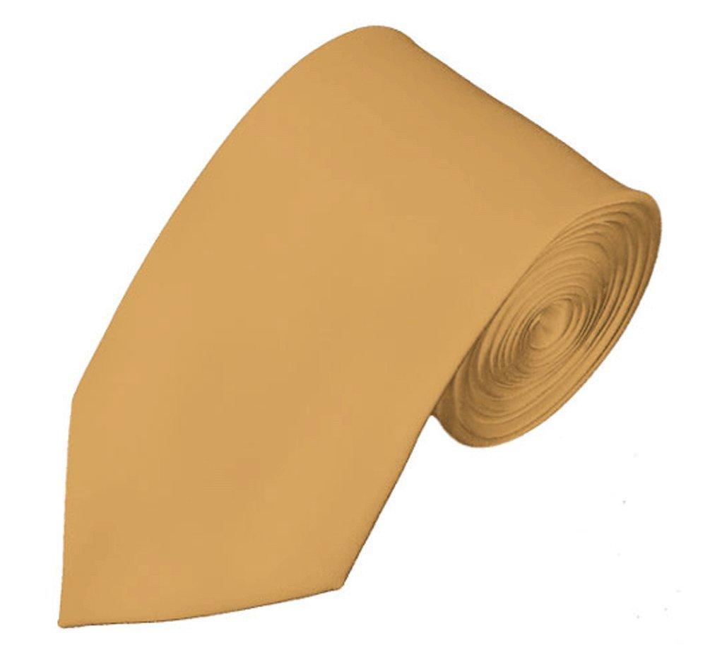 NYfashion101 Mens Solid Color 2.75 Slim Tie Light Sage