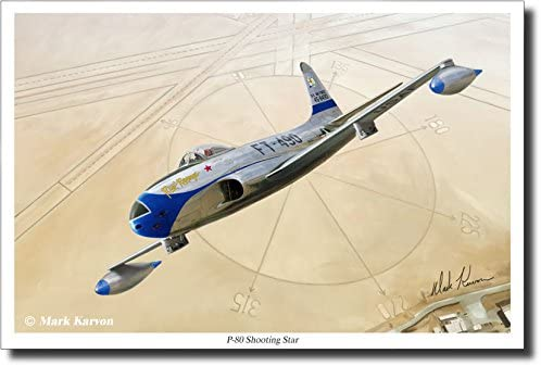 "/""P-80 Shooting Star/"" Mark Karvon Giclee Print"