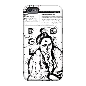Shock-Absorbing Hard Phone Case For Iphone 6 With Support Your Personal Customized Beautiful Rise Against Pattern KevinCormack