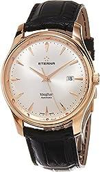 Eterna Heritage Vaughan Men's Swiss Automatic Rose Gold Watch 7650.69.11.1185