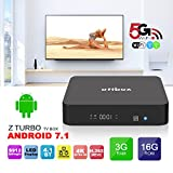 Android 7.1 TV Box OTTBOX Z TURBO Amlogic S912 Octa Core 3GB RAM 16GB ROM 64 Bit Smart TV Box Support 4K 3D H.265 Dual Band WiFi 2.4GHz/5GHz 2017 Model Media Player