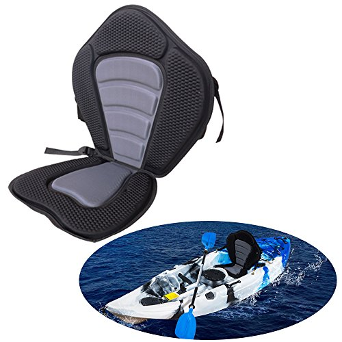 - iztor Adjustable Padded Kayak Seat and Backrest canoe Boat Seat