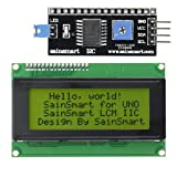 SainSmart IIC/I2C/TWI Serial 2004 20 x 4 LCD Module Shield Yellow Blacklight for Arduino UNO MEGA R3