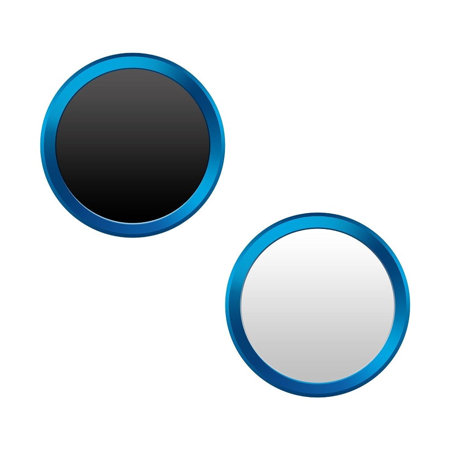 変形する調子標準M's Select. iFinger Button 指紋認証対応 ホームボタンシール ホワイトシルバー iPhone6 iPhone6Plus iPhone5S 対応 MS-IFVB-WS