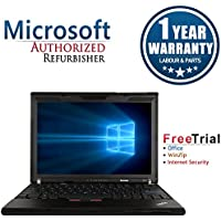 Lenovo X201 12.1 Laptop Computer(Intel Core i5 520M 2.4G,4G RAM DDR3,160G HDD,Windows 7 Professional)(Certified Refurbished)