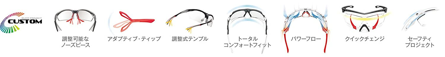f37dc0ee847 Amazon.com  Rudy Project Tralyx Matte Black with Impactx-2 Photochromic  Clear to Black Lenses  Sports   Outdoors
