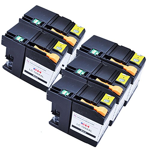 Sophia Global Compatible Ink Cartridge Replacement for LC109XXL (5 Black)