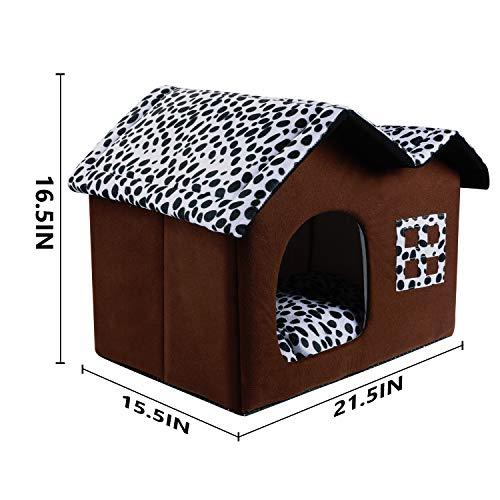 SKL-Cat-Dog-Bed-House-Portable-Indoor-Pet-House-Dog-Bed-Cave-Bed