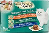 Cheap Purina Fancy Feast Elegant Medleys Shredded Fare Collection Gourmet Cat Food 3 Flavors – 12 CT