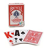 2 Decks Bicycle Lo Vision Easy to See Playing Cards Low