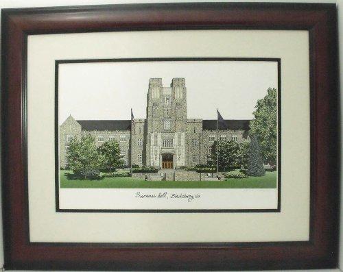 Virginia Tech Collegiate Framed Print